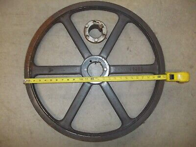 23.35 Large Diameter Cast Iron Two Groove V Belt Pulley Browning 2tb250 Bushing