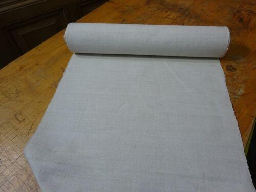 A Homespun Linen Hemp/Flax Yardage 10 Yards x 19