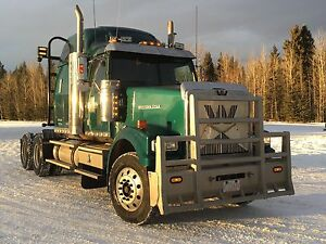2011 Western Star with single turbo Cat