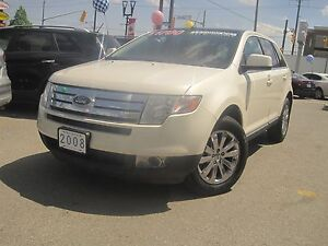 2008 FORD EDGE LIMITED | Leather • 2 Roofs • AWD •
