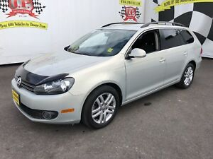 2011 Volkswagen Golf Wagon Comfortline, Manual, H Seats, Diesel,