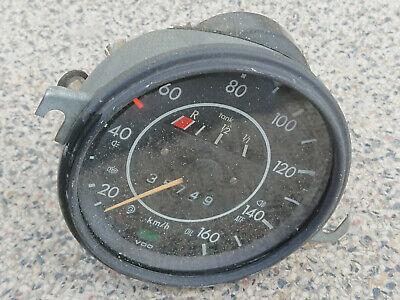 Tacho,Tachometer Ø80 ! drei Berge Logo 0-120km//h,AWO,EMW,MZ-BK,BMW verchromt