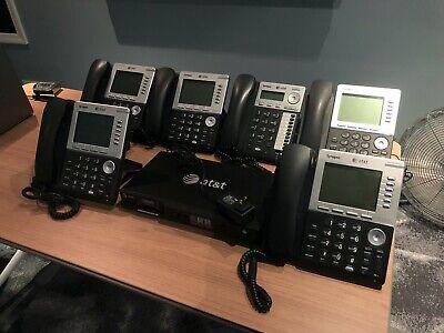 Att Synapse System Bundle - Sb67010 Pstn Gateway With 6 Phones
