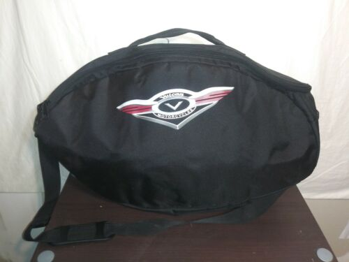motorcycle duffle bag. 20 by 17 inches. Vulcan Motorcycles. nylon.