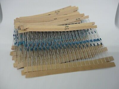 600pcs Kit Set 30 Values X 20 Each 16w 1 Metal Film Resistors Pack 10ohms-1m
