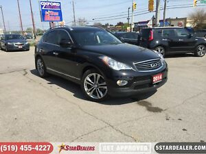 2014 Infiniti QX50 Journey | AWD | NAV | LEATHER | ROOF | CAM