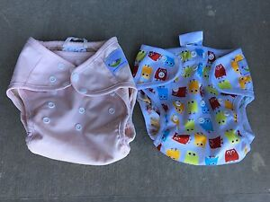 Diaper covers and wool