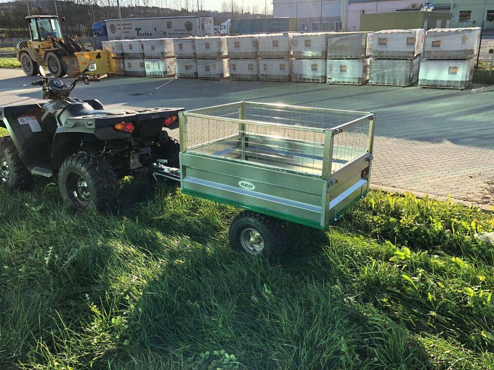 ATV Rasentraktor Aufsitzmäher - Transportwagen Kipp- Anhänger in Müritz - Landkreis - Penkow