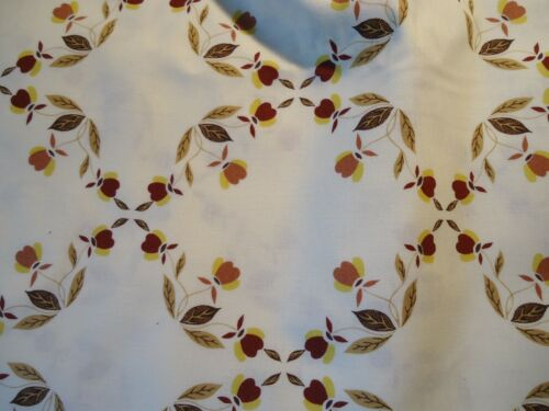 HALL AUTUMN LEAF JEWEL TEA COTTON FABRIC ~ CHINA SPECIALITIES EXCLUSIVE