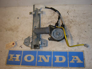 1996 honda accord 4 door left driver rear window regulator for 1996 honda accord power window switch