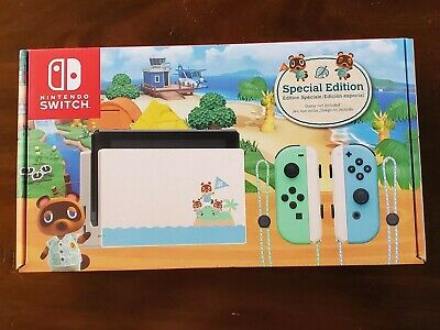 Nintendo Switch Limited Edition Animal Crossing Console In Hand Fast Ship Sealed