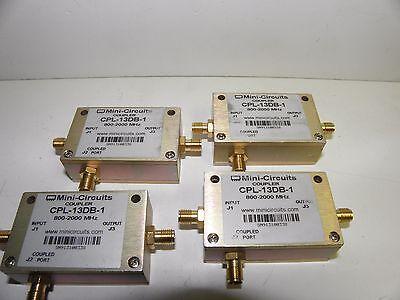 Batch Of 4 Mini-circuits Cpl-13db-1