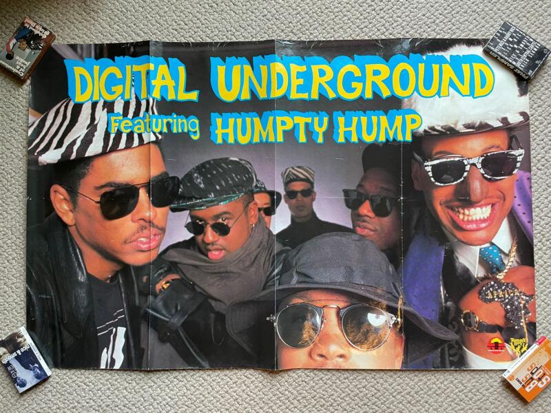Digital Underground Humpty Hump Shock G Humpty Dance Promo Poster Tommy Boy 1990