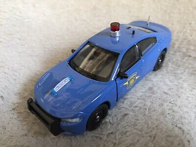 Custom Michigan State Police Welly Dodge Charger Patrol Car