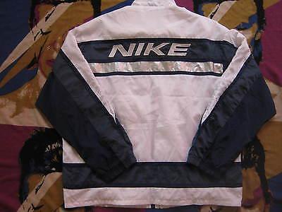 Vintage Nike Jacket Techno Multi-color 90's Fashion Hype Oldskool Hip Hop Wutang