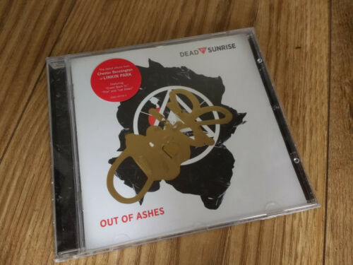 Chester Bennington Signed Dead By Sunrise Out of Ashes CD Rare