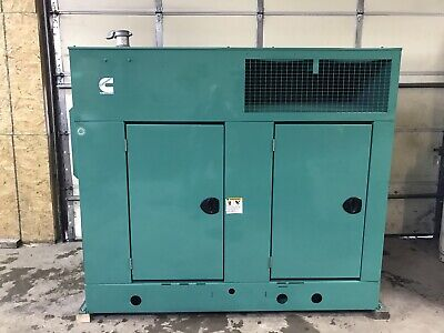 50 Kw Diesel Generator Cummins Diesel 4bt3.9-g5 120240 Volts Tier 2 Quiet Site