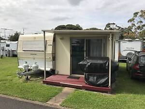 1987 19ft Hallmark Deluxe Caravan with hard annex for relocation Queenscliff Outer Geelong Preview
