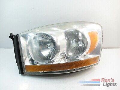2006 2007 2008 Dodge RAM OEM Halogen Headlight LH (Driver) - Used
