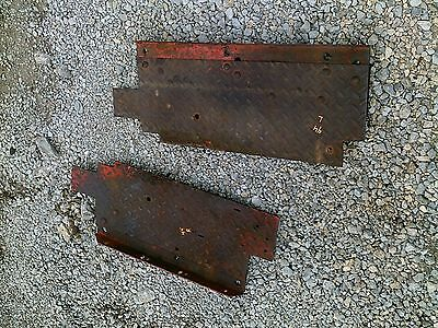 Massey Harris 44 Rowcrop Tractor Pair Of Mh Platform Step Steps R L