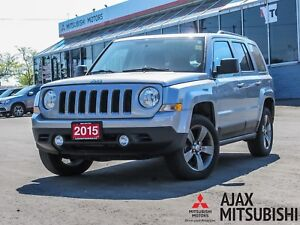 2015 Jeep Patriot High Altitude 4x4 / Leather / Sunroof