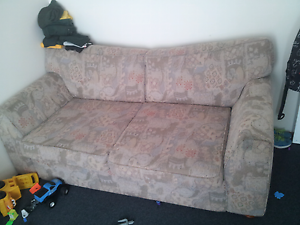 2seater couch + matching ottoman Cygnet Huon Valley Preview