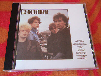 U2 - October, CD Island Masters, nicht remastered (842 297-2) ()