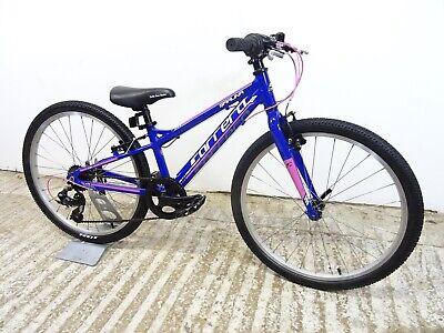 "Carrera Saruna Jr 24"" Hybrid Bike Girls Kids 10.5"" Small Alloy Used GC"