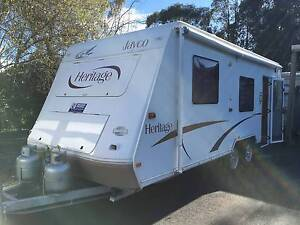 2004 Jayco Heritage Van - Ensuite Rollout w/Walls Satellite Dish Warragul Baw Baw Area Preview