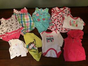 6 month baby girl summer clothes