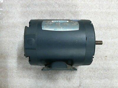 Leeson 101013.00 Motor Tenv 13 Hp 3450 2850 Rpm 5060 Hz