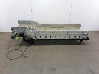 Dyna-con 84 Cleated Incline Modular Conveyor 24belt 5 Rise 120v