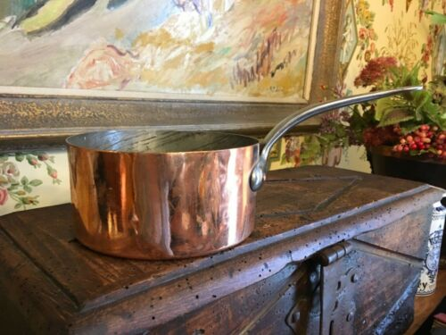 French Copper Sauce Pan Circa 1880s  Found in France