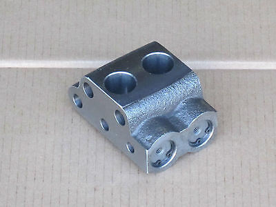 Hydraulic Pump Valve Chamber For Massey Ferguson Mf 135 150 165 175 35 35x 50 65