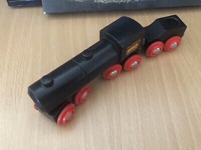 33414 Brio Wooden Train Black Steam Engine! Thomas