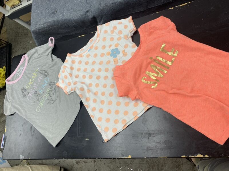 Lot Of Girls Clothes Shirts Size 2t And 3t Disney Carter's Cat Jack