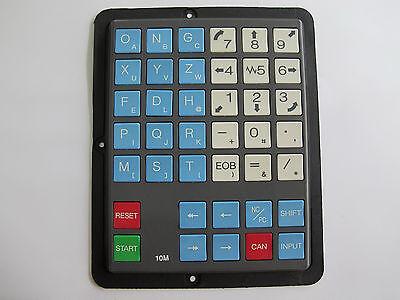 Fanuc Hardkey Keysheet Keypad 10M (Half Keypad)