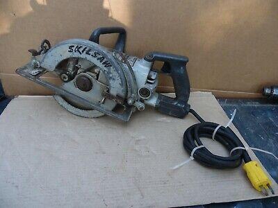 Skilsaw Model 77 Professional 7 14 Worm Drive Circular Saw 13 Amp 4400 Rpm Usa