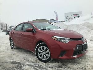 2015 Toyota COROLLA  LE --BACK UP CAMERA--BLUETOOTH--
