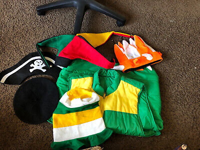 Halloween Or School Dress Up Days Pirate Jester And Dr. Seuss Hats And Vest