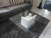 Glass Top Coffee Table Upper Mount Gravatt Brisbane South East Preview