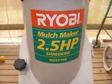 RYOBI  Electric GARDEN SHREDDER Williamstown Barossa Area Preview