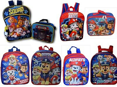 Paw Patrol Boys School Backpack Lunch box Book Bag Toddler Kids Gift Toy Pre K](Children's Gift Bags)