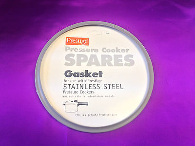 Genuine Stainless Steel Prestige Pressure Cooker Grey Gasket Seal 96461 Spare