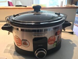 Hamilton Beach - IntelliTime 6 Quart Slow Cooker (New in Box)