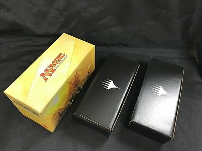 MTG Card Empty Storage Box Magic the Gathering Amonkhet & 2 x Planeswalker Black