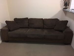 Lounge- Choc Brown *Great Condition* Runaway Bay Gold Coast North Preview