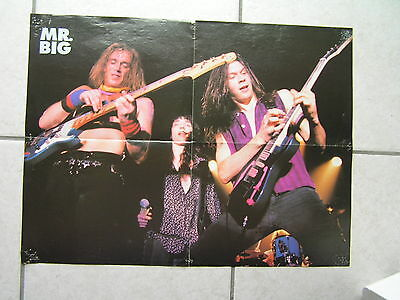 posters MR. BIG // METALLICA - 41 x 56 cm - a picture on each side