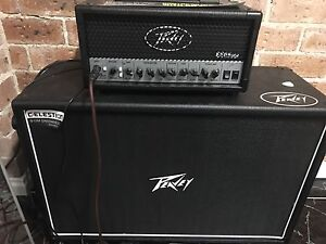 Peavy 6505 amp head and cab just 2 months old Old Guildford Fairfield Area Preview