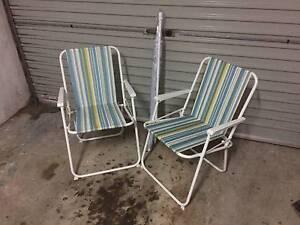 Beach Chairs and Umbrella Bondi Eastern Suburbs Preview